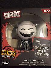 Funko Dorbz Disney Nightmare Before Christmas Jack Skellington Glow In The Dark