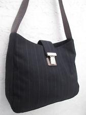 -AUTHENTIQUE sac à main  RALPH LAUREN  toile/cuir  TBEG vintage bag