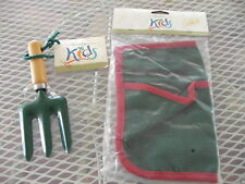 "Garden Place Child'S ""Kids"" Tool Apron & Hand Rake Nwt"
