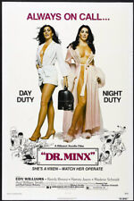 DR. MINX 1975 SEXPLOITATION poster EDY WILLIAMS/WILLIAM SMITH original one sheet