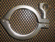 "One lot of 4 - 3"" Sanitary heavy duty clamp single pin"