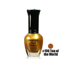 1 Kleancolor Nail Polish Lacquer #196 Top of the World Manicure