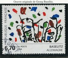 TIMBRE FRANCE OBLITERE N° 2914 TABLEAU BASELITZ / Photo non contractuelle