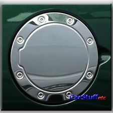 Stainless Gas Fuel Door Cover Cadillac Escalade 99 00