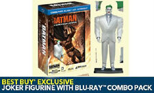BATMAN DARK KNIGHT RETURNS PART 2 BLU RAY DVD Best Buy Excl wJoker figurine