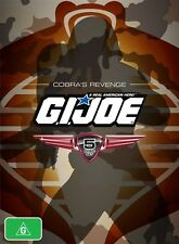 GI Joe - Cobra's Revenge : Collection 2 (DVD, 2009, 5-Disc Set) - Region 4
