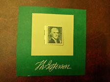 US 1278 Thomas Jefferson 1c single (1 stamp) MNH 1968