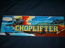 Choplifter-Sega Original Top Header/Marquee-L@K!