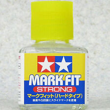 TAMIYA 87135 Mark Fit Strong Decal Cement Glue 40ml for PLASTIC MODEL KIT TOOLS