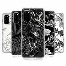 OFFICIAL HAROULITA BLACK AND WHITE 5 SOFT GEL CASE FOR SAMSUNG PHONES 1
