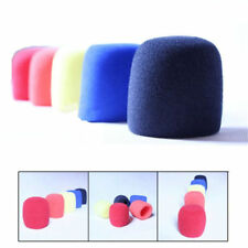 3pcs Sponge Foam Covers Windscreen Windshield for Handheld Microphone Random