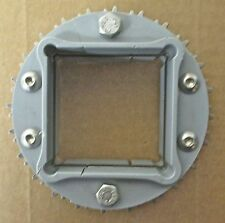 "INTRALOX SPLIT SPROCKET - SERIES 1100 - 4.6 PD - 2-1/2"" SQUARE BORE - 24T *NEW*"
