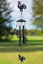 New listing Vp Home Rhythmic Roosters Outdoor Garden Decor Wind Chime