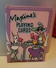 Maxine'S Playing Cards Fun Comical Cartoons Hallmark Regular Deck