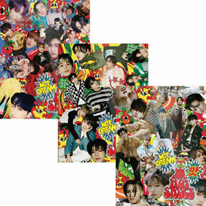 NCT DREAM [HOT SAUCE/맛] 1st Album PHOTO BOOK CD+POSTER+2 Book+Card+F.Poster+GIFT