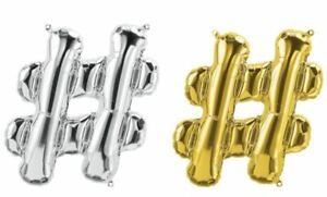 """16"""" 40"""" Silver Letter Number Foil Balloon Party Birthday Wedding Baby Shower"""