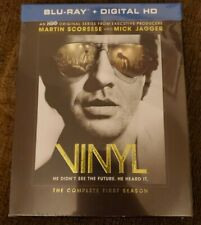 Vinyl The Complete First Season 1 Blu-ray Sealed