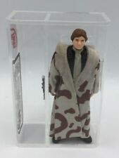 AFA / UKG STAR WARS HAN SOLO (TRENCH COAT) / KENNER 1984 / NO COO / UKG 85%