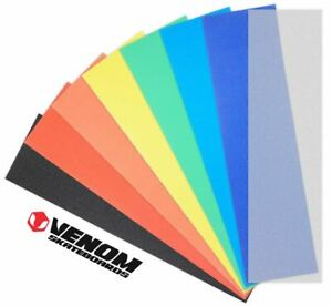 "Venom Skateboards Perforated Skateboard Grip Tape 9"" x 33"" - Colours"