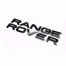 NERO LUCIDO RANGE ROVER scritta per Evoque Sport P38 L322 COFANO 3D stemma