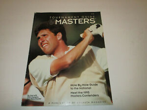 1995  Masters Golf Tournament Guide Augusta Magazine