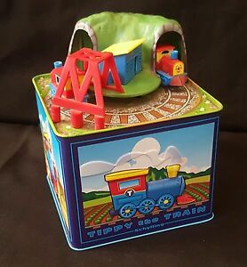 Schylling TIPPY THE TRAIN Toy Box Railroad Train