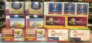 Mega Paket 1200 Packs Panini je 200 WC WM 2018 2014 2010 EC EM 2016 2012 2008