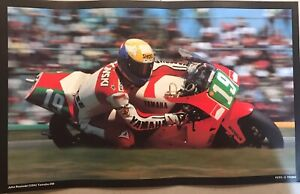 JOHN KOCINSKI  (USA) Yamaha 250 Motorcycle 🏍 Racing EXTREMELY RARE Cycle Poster