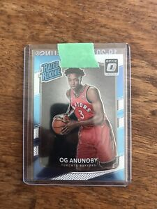 2017-18 Optic RC OG Anunoby	RATED ROOKIE	#178 HOT MINT
