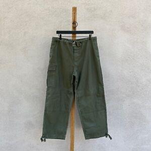Vintage 1987 Belgian Military Cotton Twill M88 Work Pants Men's Medium