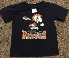 NFL Denver Broncos Youth 4T T Shirt Cotton Blue A2