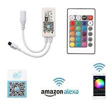 Cooligg LED Wifi Controller RGB IR RF Remote Wlan Kontroller mit Alexa Echo/ App