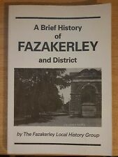 A Brief History of FAZAKERLEY and DISTRICT (Paperback) VERY GOOD