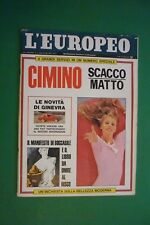 L'Européen 1967 Claude Lelouch + Candice Bergen + Lucio Dalla + Max Manifesto