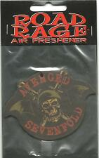 AVENGED SEVENFOLD logo shape 2007 AIR FRESHENER official SEALED usa IMPORT A7X