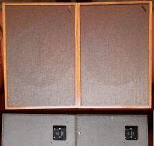2 vintage Rogers Compact Cadet speakers