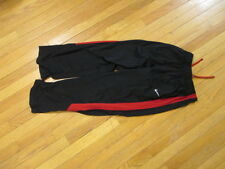 Nike sweat Pants Running boys girls L Black track Fitness tie string waist dri
