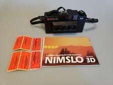 Nimslo 3D Quadra Lens 35mm Camera, Manual, strap and 6 processing tickets
