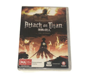 Attack On Titan : Collection 1 (DVD 2-Disc Set) R4 New And Sealed