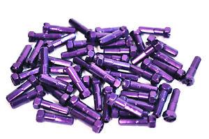 Gsport BMX Nipples - Taper Hex - Nipple & Tool - 7075 - Purple