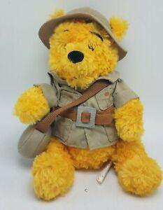Park Exclusive Walt Disney World Winnie The Pooh Safari Bear Plush Bean Bag NWT