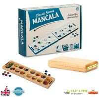 Tobar MANCALA Board Game Family Fun Classic Wooden Kids Gils Boys Toy Gift U