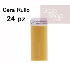 DEPIWELL 24 RICARICHE CERA RULLO DEPILATORIA NATURALE 100ML CARTUCCIA ROOL- ON