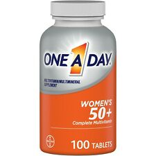 One A Day Women's 50+ Multivitamin Tablets, Multivitamins for Women, 100 Ct