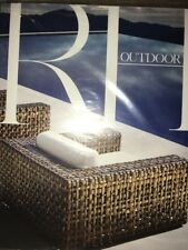 RESTORATION HARDWARE OUTDOOR 2017 Source Book Catalog New Sealed