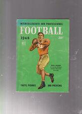 INTERCOLLEGIATE AND PROFESSIONAL FOOTBALL 1948 DELL BOOK DOAK WALKER OTTO GRAHAM