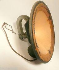 "vintage * LEKTOPHONE 8 & 5/8""  MAGNET SPEAKER - Good Cone - WORKING AT 3750 OHMS"