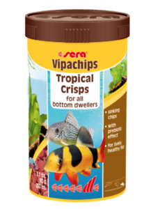 Sera Tropical Sinking Crisps 90g Tropical Fish Food Vipachips