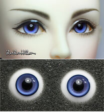 1/3 1/4 bjd 14mm two tone high quality glass doll eyes M-44 dollfie luts ship US