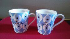 Gevalia Kaffe Ceramic Coffee Mugs/Cups Set of 2